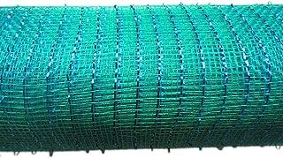 21 inch x 30 feet(10 Yards)-YYCRAFT Metallic Deco Poly Mesh Ribbon(Teal)