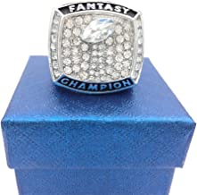 2018 Fantasy Football Championship Rings Trophy Prize Draft