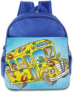 Kids The Magic School Bus School Backpack Cartoon Baby Boys Girls School Bags