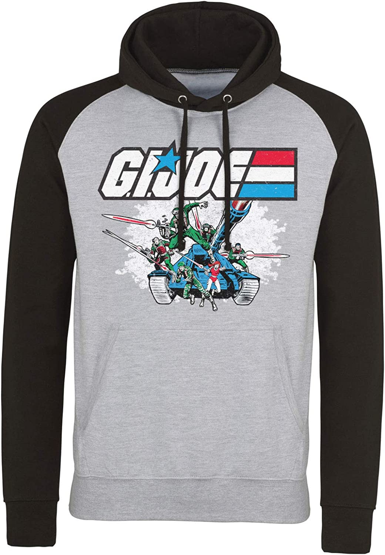 Officially Licensed G.I. Joe Las Vegas Mall Tank Max 74% OFF Heather Grey Hoodie Baseball