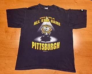 Vintage 1994 MLB All Star Game T-Shirt tee shirt jersey bonds clemente mcgriff pirates thomas ripken griffey puckett piazza gwynn bagwell