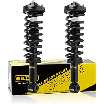 DTA 50007 Front Complete Strut Assemblies With Springs and Mounts Ready to Install OE Replacement 2-pc Pair Fits 2007-2013 Ford Expedition,Lincoln Navigator Without Air Suspension NOT For 2014 Models