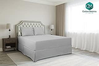 Cotton Metrics Linen Present 800TC Hotel Quality 100% Egyptian Cotton Bed Skirt 12