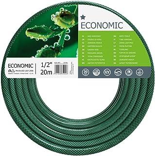 "Cellfast Garden Hose ECONOMIC 1/2"" 20 m, Flexible and Three-layer Hose, Resistance to UV, Internal Part Resistant to Alga..."