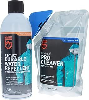 Gear Aid ReviveX Deluxe Waterproofing & Revitalization Combo Kit