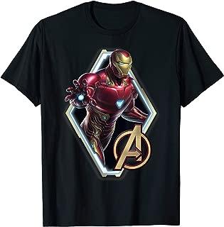 Avengers Endgame Iron Man Logo Graphic T-Shirt