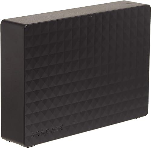 Seagate Expansion 4TB Desktop External Hard Drive USB 3.0 (STEB4000100) - US Plug