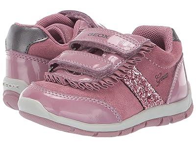 Geox Kids Shaax 22 (Toddler) (Dark Pink) Girls Shoes