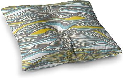 60 X 50 60 by 50-Inch Kess InHouse Sylvia Cook New Orleans Street Corner Green Brown Fleece Throw Blanket