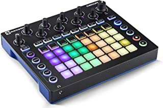 Novation Circuit Drum Machine, Pad Controller Grid-Based Groove Box with 1 Year Free Extended Warranty
