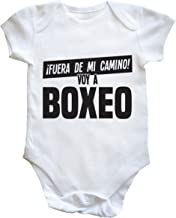 HippoWarehouse FUERA DE MI CAMINO! VOY A BOXEO body bodys pijama niños niñas unisex