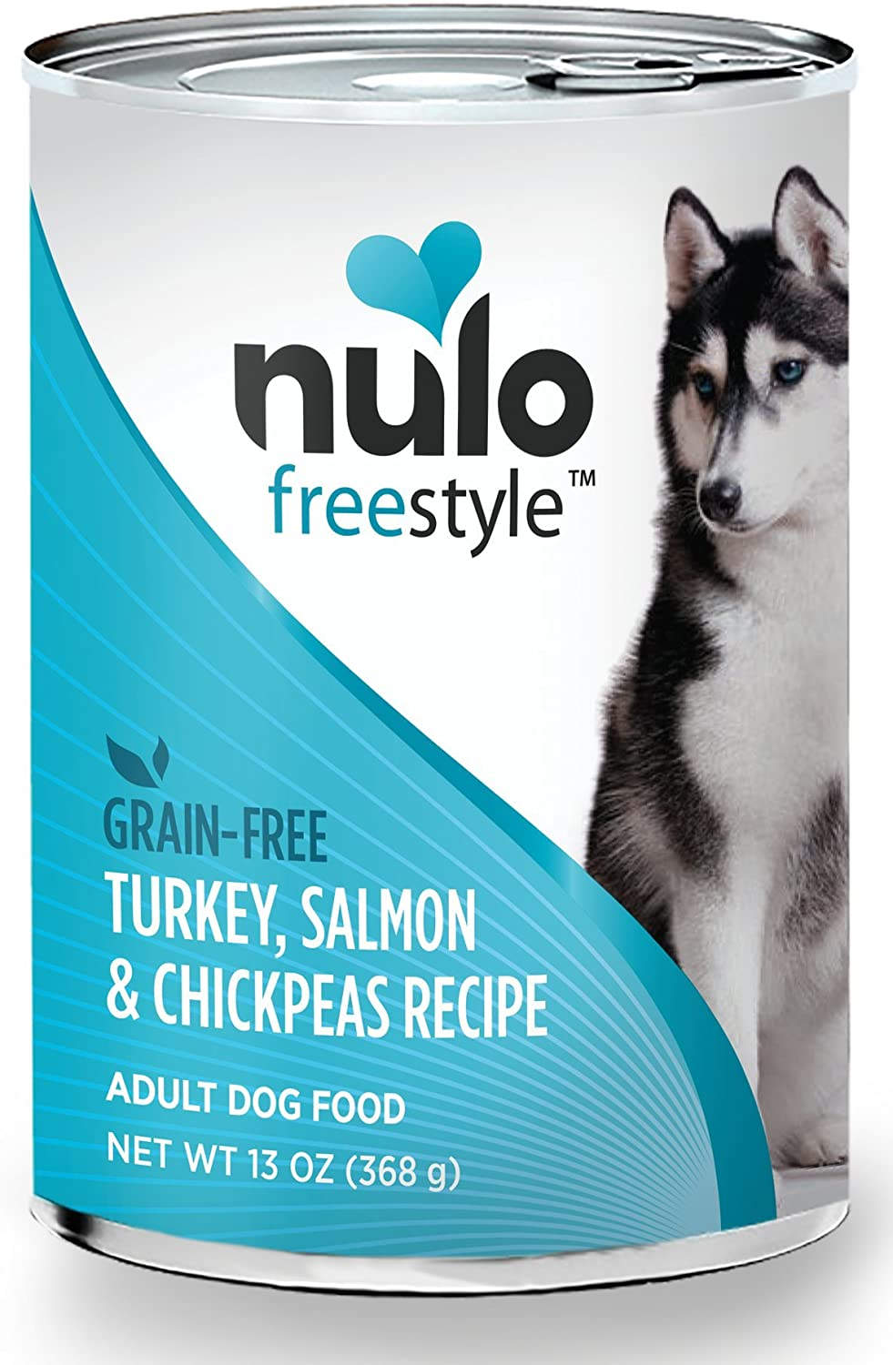 Nulo Grain Free Canned Wet Dog Food (13 oz, Salmon)  12 Cans