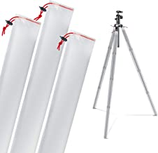 Camera Tripod Leg Protection Covers - Waterproof/Snow-Proof/Mud-Proof Sleeves … (For Small/Travel Tripods)