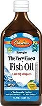 Best carlson very finest fish oil omega 3 lemon Reviews