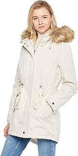 Best white faux fur parka Reviews