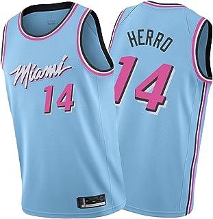 Ṃiaṃi Ḥeaṭ Ṭylẹr Ḥerrọ 14#バスケットボールジャージー、男子バスケットボールスウェットシャツスポーツトレーニングベス