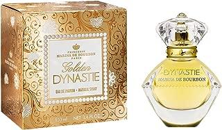 Golden Dynastie by Princesse Marina de Bourbon | Eau de Parfum Spray | Fragrance for Women | Feminine, Fruity, and Luxurious with Notes of Rose, Hyacinth, and Green Apple | 100 mL / 3.4 fl oz
