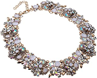 Best burgundy statement necklace Reviews