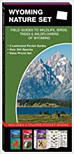 Wyoming Nature Set: Field Guides to Wildlife, Birds, Trees & Wildflowers of Wyoming