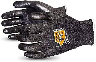 TenActiv Cut Resistant Gloves: 18-Gauge Composite Filament Fiber w/Level-4 Cut-Resistance & Foam Nitrile Palms (Touchscreen-Compatible) (Item S18TAFGFN - Size 9)