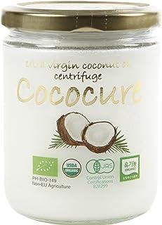COCOCURE 有機JAS認定 オーガニック100% MCT ココナッツオイル 一番絞り ミンダナオ産 (1個)