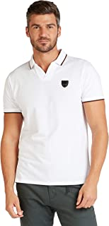 Iconic Men's 2300322 U 20 DANNY Knitted Polo Shirt, White