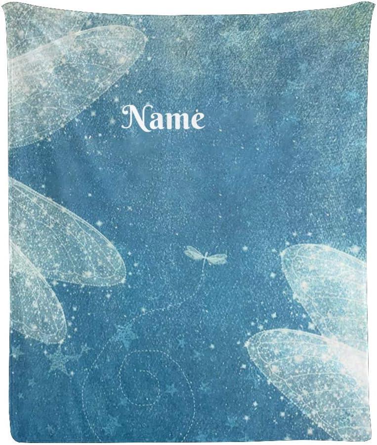 完全送料無料 CUXWEOT Custom Blanket with Name 高価値 Text Personalized Ar Watercolor