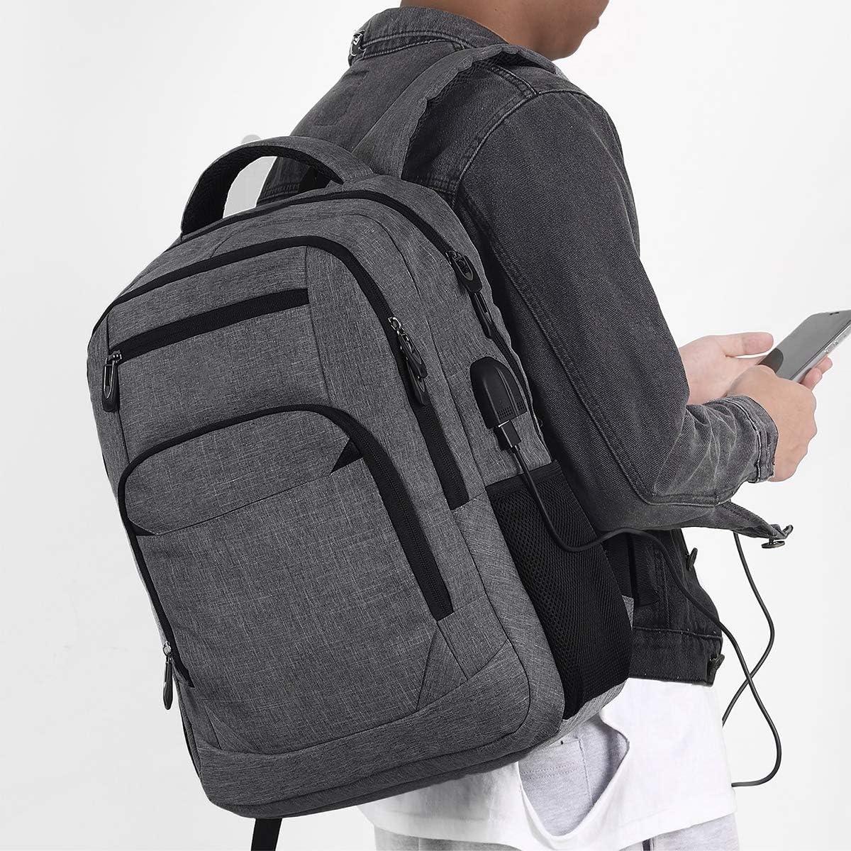 Schulrucksack M/ädchen Teenager Rucksack Schule Laptop Rucksack f/ür Damen Daypacks f/ür 15.6 Zoll Laptop Business Rucksack mit USB Ladeanschluss