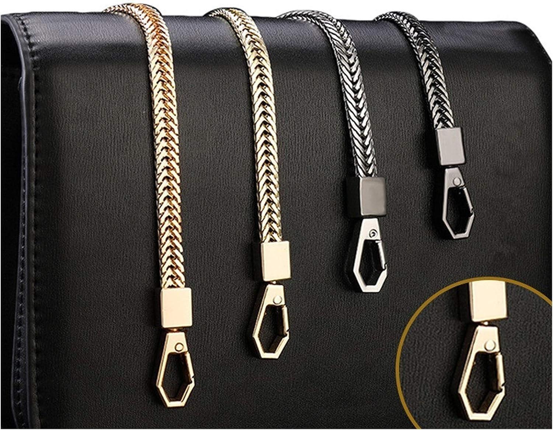Color : Black, Size : 40cm Top Qualit/ät DIY Bag Strap 6mm Ersatz Geldb/örse Kette Umh/ängetasche Riemen Kleine Handtaschen Geldb/örsen Griffkette Taschenzubeh/ör