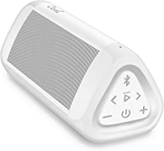OontZ Angle 3 Ultra Portable Bluetooth Speaker, 14 Watts, Bigger Bass, Hi-Quality Sound, 100 Ft Wireless Range, Play Two Speakers Together, IPX6, Bluetooth Speakers by Cambridge SoundWorks (White)