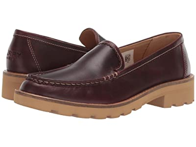 Sperry A/O Lug Loafer Leather (Wine) Women