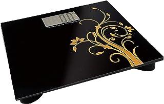 BM 4120 - Báscula digital con tecnología Step-on, apagado automático, pantalla LCD con alta estabilidad de cristal templado, plataforma plana, baterías incluidas, hasta 180 kg