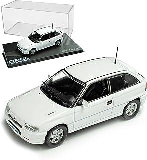 Opel Astra A GSI 1991 1996 Weiss 3 Türer Nr 61 1/43 Ixo Modell Auto