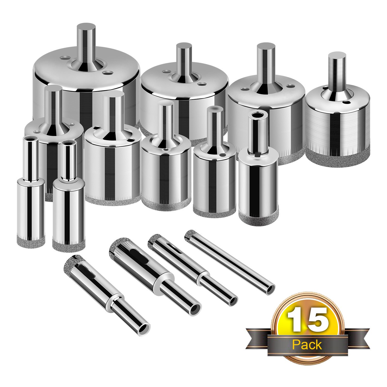 Glass Drill Bits Porcelain Extractor