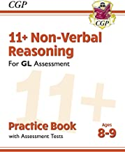 New 11+ GL Non-Verbal Reasoning Practice Book & Assessment Tests - Ages 8-9