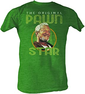 Redd Foxx 70s Actor Comedian Retro Vintage Style Original Pawn Star Adult Tshirt