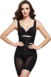 Queenral Women Body Slimmer Shapewear Bodysuits Full Body Shaper Underbust