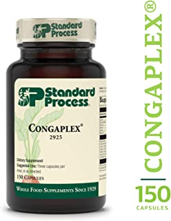 Standard Process - Congaplex - Source of Antioxidant Vitamin C, Supports Healthy Immune System Function, 900 IU Vitamin A, 6 mg Vitamin C, 80 mg Calcium, 15 mg Magnesium - 150 Capsules