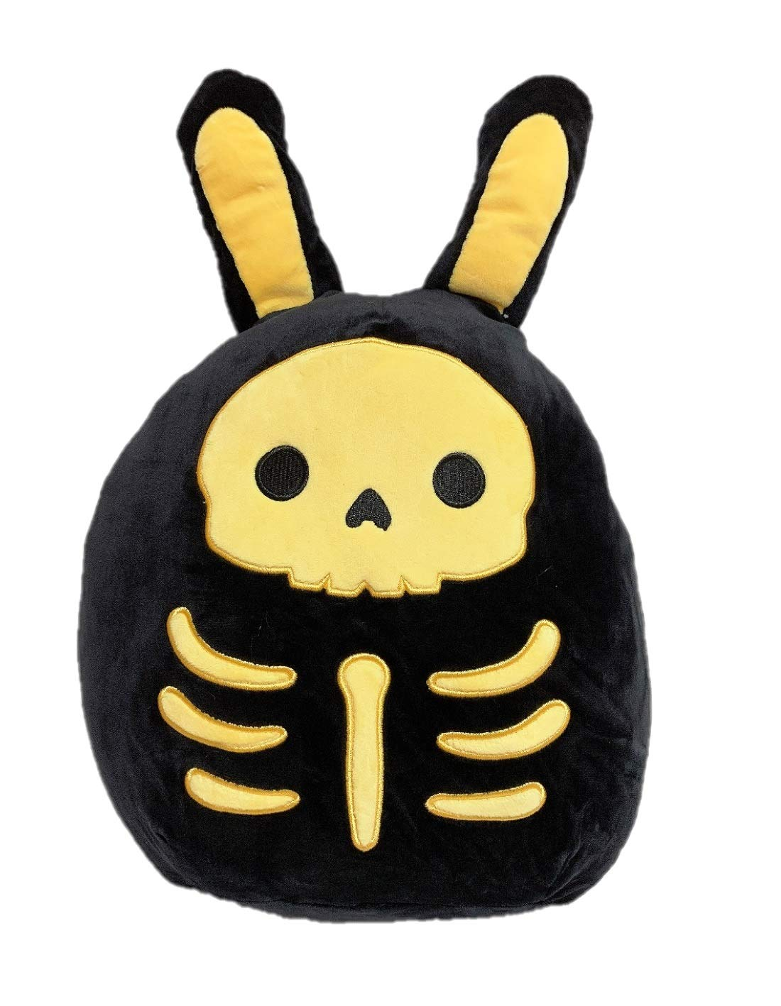 "Orange Kellytoy Squishmallow 2020 Halloween 12/"" Scrapper Skeleton Plush Doll"
