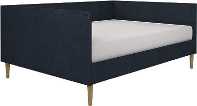 Amazon.com: Modus Furniture Riva Platform Storage Bed, Queen ...