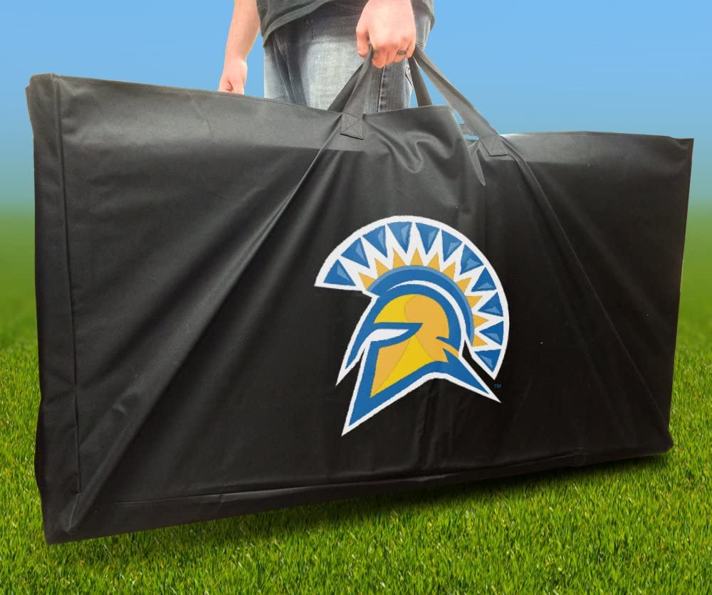 SAN JOSE STATE SPARTANS Officially CARRY Board Licensed OFFicial CORNHOLE Import