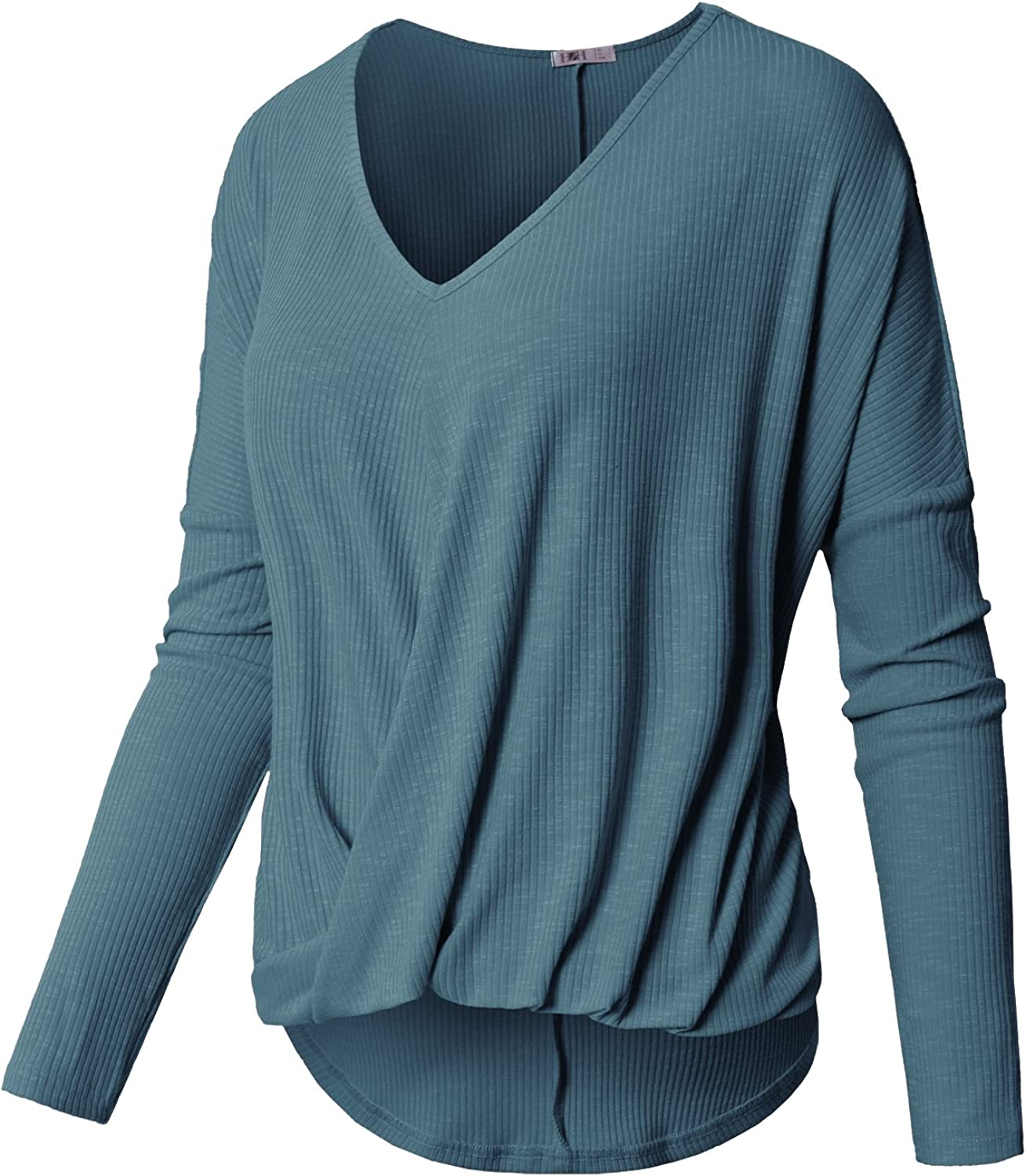 H2H Womens Casual TShirts Loose Fit Knit Sweater Top of Various Styles