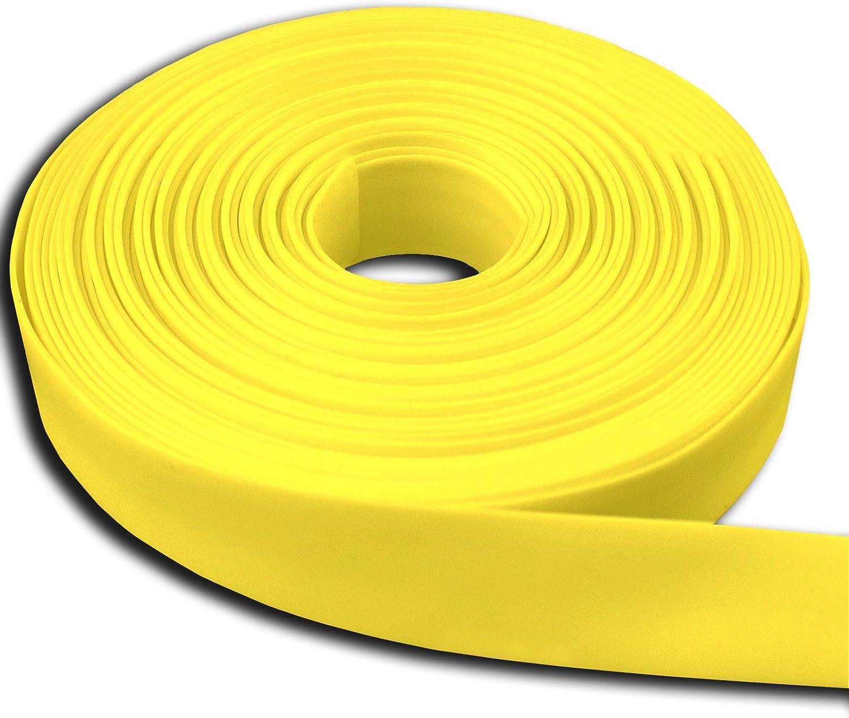 19mm Diameter 50 Meter Roll ORANGE Heat Shrink Heatshrink Tube Tubing