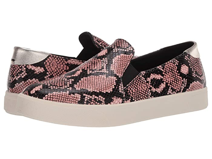 Cole Haan  Grandpro Spectator 2.0 Slip-On Sneaker (Exotic Snake Print Burnt Coral/Black/Ivory) Womens Shoes