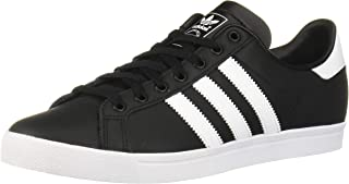 adidas Originals Unisex-Kid's Coast Star Sneaker, White, Black, 9.5 Medium US