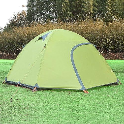 BJYG 3-4 Double Tente d'escalade extérieure en Alliage d'aluminium imperméable Ultra léger Camping sauvagetente Tente de Plage