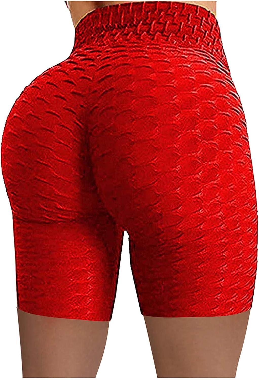 Butt Lifting Shorts,Women High Waist Seamless Leggings Butt Lift Anti Cellulite Leggings for Workout