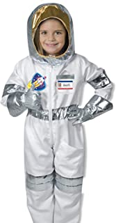 Melissa & Doug 18503 - Juego de disfraces de juego de roles para astronautas, Multicolor, 4,1 cm de largo ancho x 43.7 cm Edad 3-6 años, 5 piezas