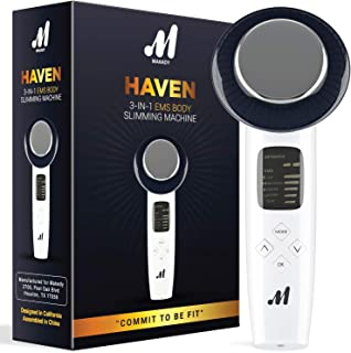 Haven 3 in 1 Body Slimming Machine– Rejuvenates Skin – Triggers Fat Removal from Belly and Waist -Beauty Massager for Face...