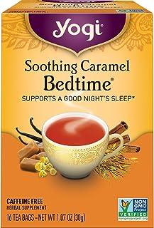 Yogi Tea - Soothing Caramel Bedtime (4 Pack) - Supports a Good Night's Sleep - 64 Tea Bags